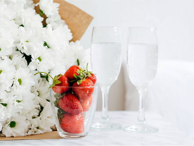 anniversary strawberries