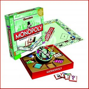 Buy them the chocolate monopoly game for their anniversary gift