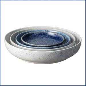 Buy them this Denby Studio Blue 4 Piece Nesting Bowl Set for their anniversary gift