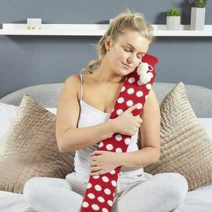 Buy her this extra long hot water bottle