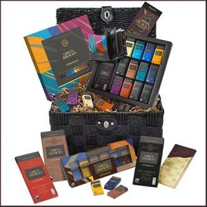 Buy them the Green & Black´s Chocolate Lovers Hamper for their anniversary gift