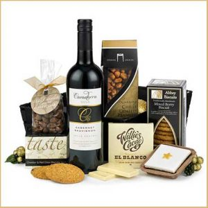 Buy her the Gracefully Delicious Hamper for the 20th anniversary gift