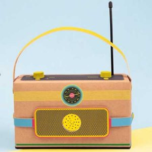 Buy him this make your own radio kit for this anniversary gift