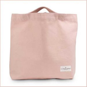 Buy her My Organic bag in pink for this anniversary gift