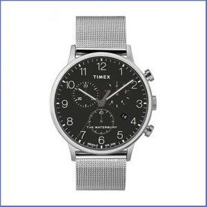 Buy him this Gents Timex Quartz Analog Stainless Steel Watch for his 25th anniversary gift