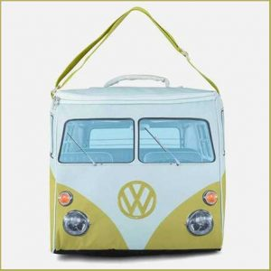 Buy him this VW cooler bag for his anniversary gift, keep the beers cold!