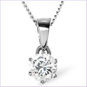 Buy her a diamond pendant for the 30th wedding anniversary gift, we have a selection to choose from.