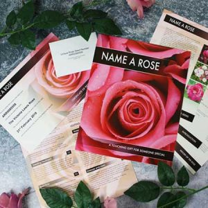 Buy her the name a rose gift box for her 40th anniversary gift