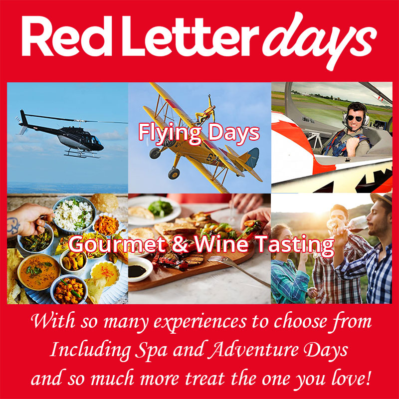 Treat them to an experience day to remember, it may be fine dining or a luxury weekend away we have many to choose from and a great anniversary gift.