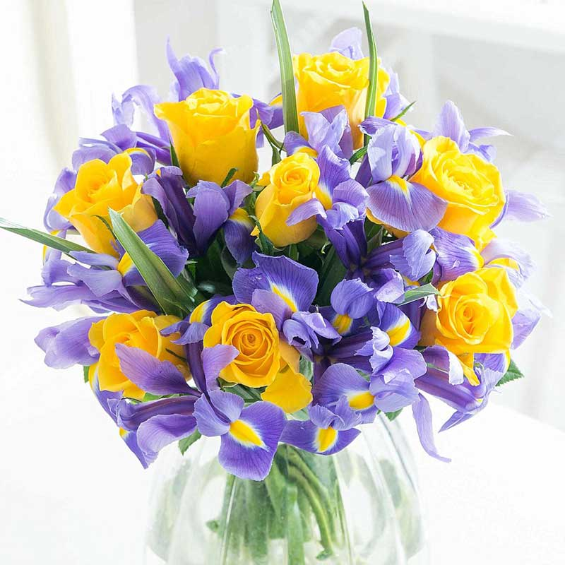 Buy her or your parents the Joyful Breeze Bouquet for the 40th anniversary gift