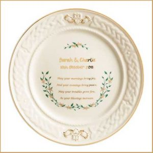 Buy them this personalised anniversary plate for their 45th anniversary gift