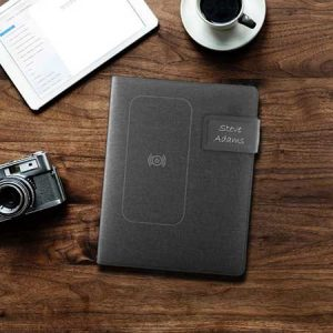 Buy him a Personalised Powerbank USB Notepad for his 45th anniversary gift