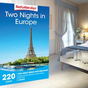 Buy her a two night european break for the 45th anniversary gift